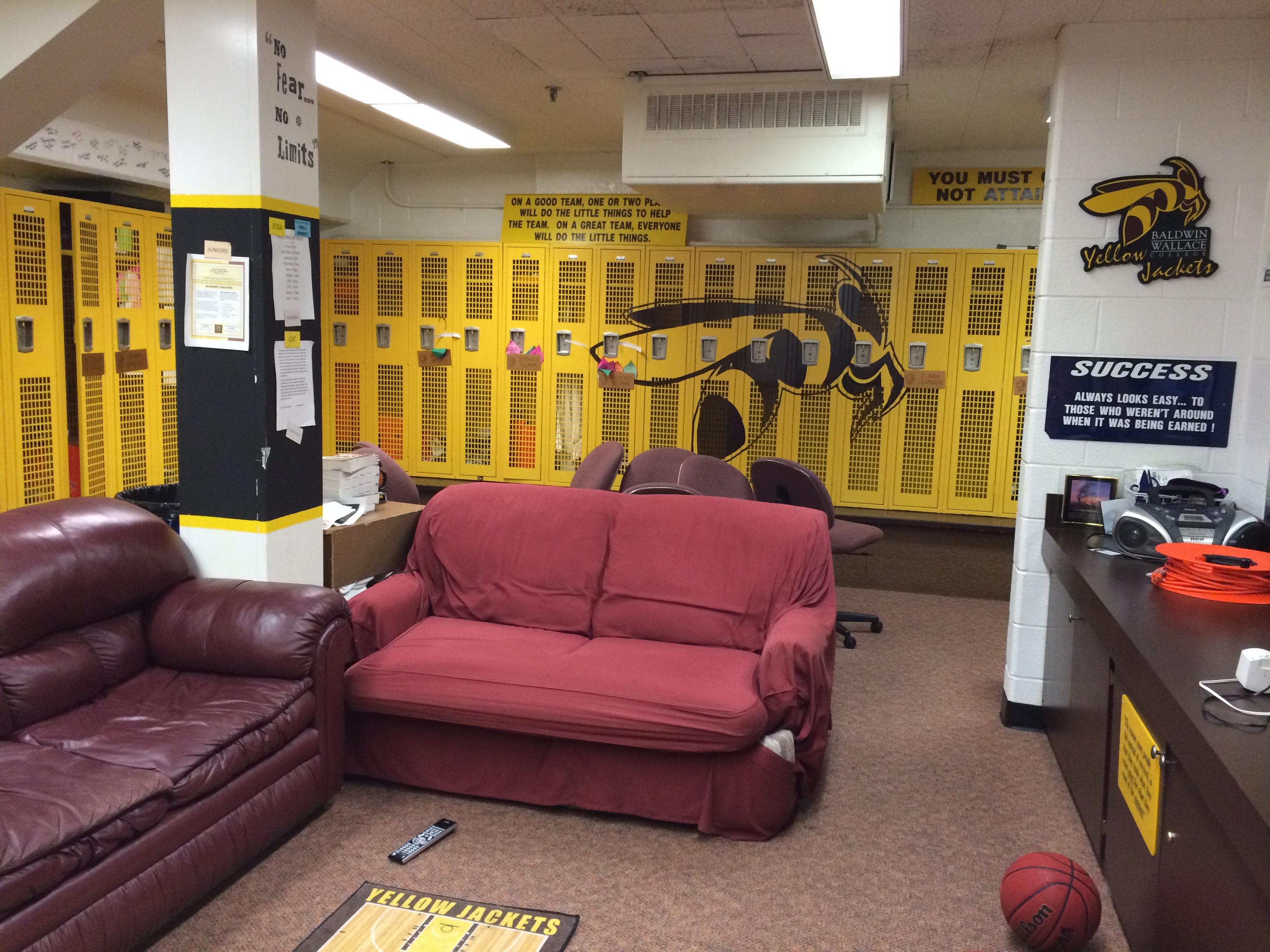 Men\'s & Women\'s Basketball Locker Room Renovation - Baldwin Wallace ...